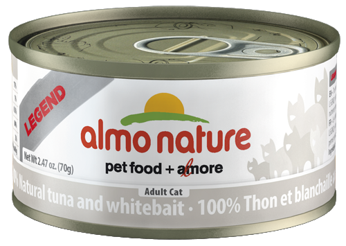 100% Natural Tuna and Whitebait