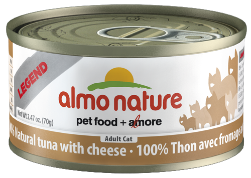 100% Natural Tuna with Cheese
