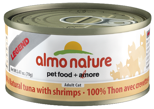 100% Natural Tuna with Shrimps