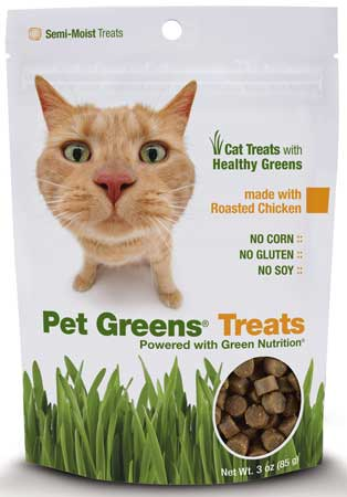 Pet Greens� Roasted Chicken Semi-Moist Cat Treats