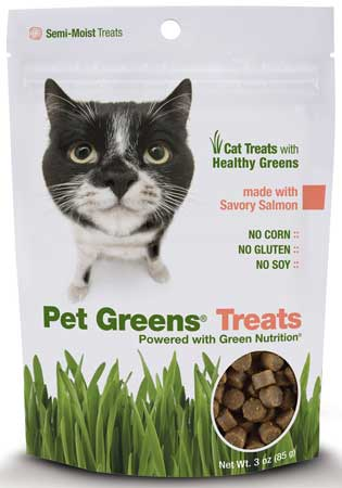 Pet Greens� Salmon Semi-Moist Cat Treats
