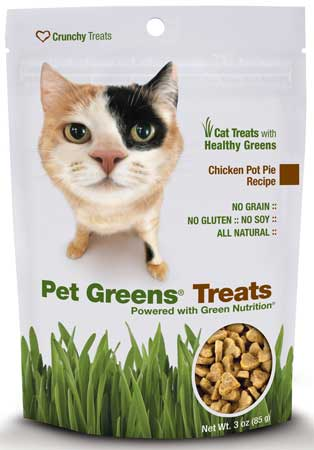 Pet Greens� Chicken Pot Pie Crunchy Cat Treats