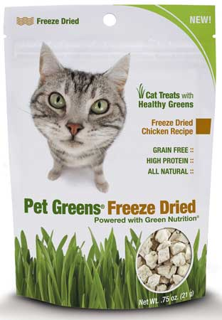 Pet Greens® Freeze Dried Treats for Cats Chicken