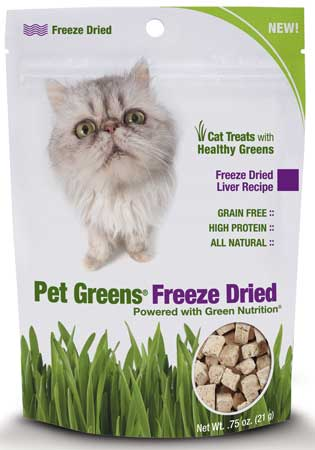 Pet Greens® Freeze Dried Treats for Cats Liver