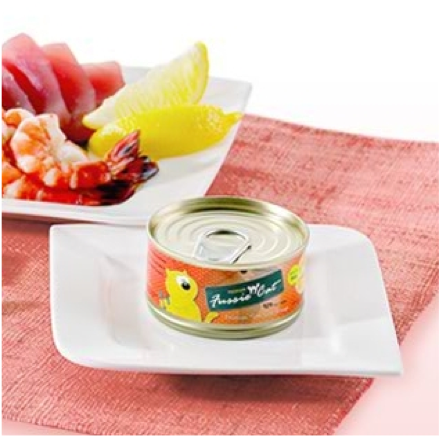 Premium Tuna With Shrimp Canned