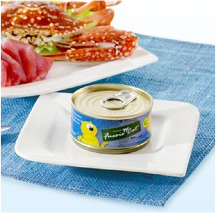 Premium Tuna with Crab Meat Canned