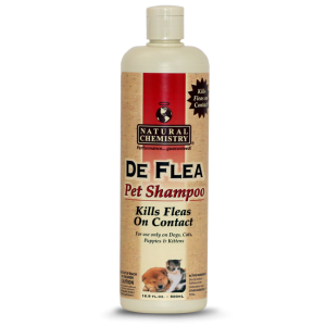 De Flea Cat Shampoo 8 oz.