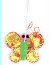 cattachment butterfly toy by