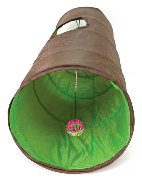 Cattachment Nylon Fun Tunnel by Ware Mfg