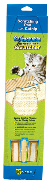 Cattachment Reversible Scratcher by Ware Mfg