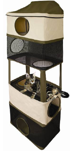 Cat Hideout Tower by Ware Mfg.